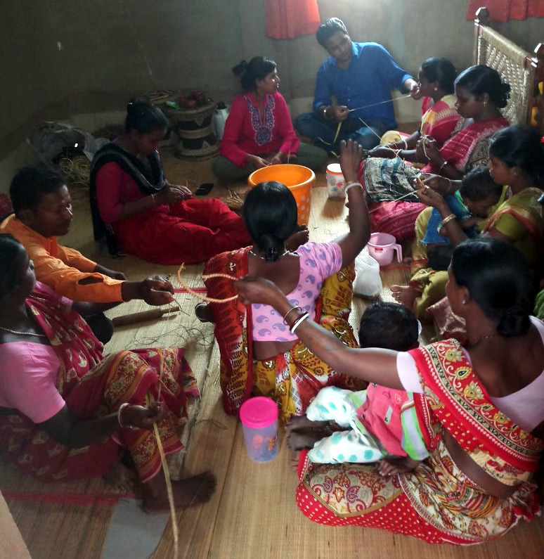 Training of tribal women in West Bengal