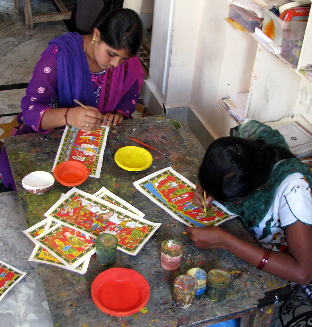 Promoting traditional crafts